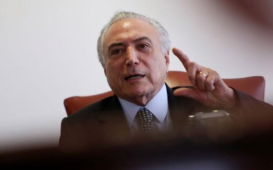 O Presidente Michel Temer  (Foto:  Adriano Machado / Reuters)