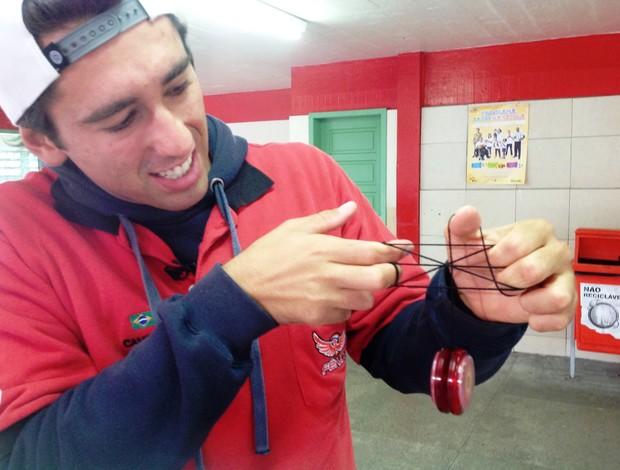Allan Carlos Vierne ioiô (Foto: Vivian Sipriano / RBS TV)