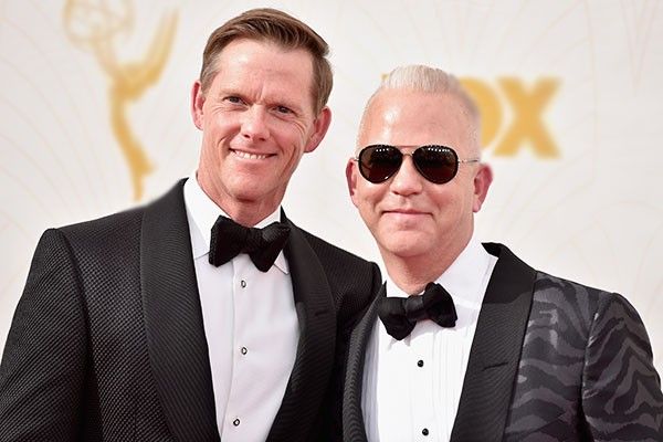 Ryan Murphy e David Miller (Foto: Getty Images)