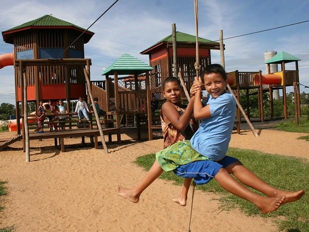 Parque Ecológico terá colônia de férias a partir desta semana (Foto: Divulgação)