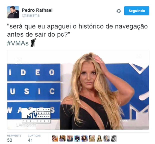 Comentários do VMA 2016 no Twitter  (Foto: Reprodução/Twitter)