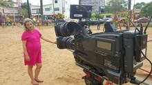 JA Criciúma exibe série sobre gravidez após os 35 anos (RBS TV SC/Divulgação)