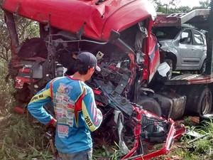 Três pessoas morreram nas estradas federais que cortam o MA (Foto: Divulgação/PRF)