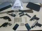 Casal é preso por porte ilegal e cinco armas são apreendidas em Uberlândia