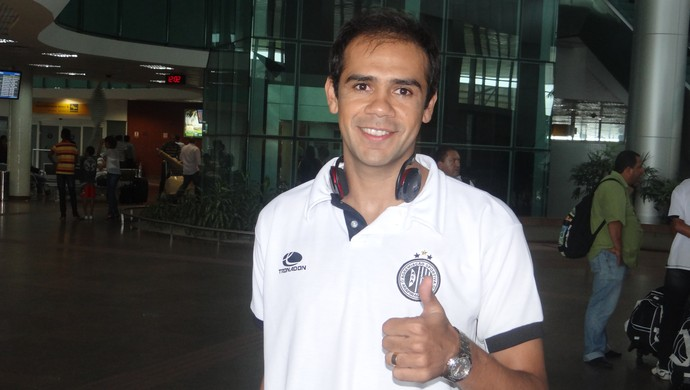 Fabiano, zagueiro do ASA (Foto: Leonardo Freire/GLOBOESPORTE.COM)