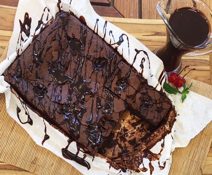 Brownie de Chocolate Furadinho