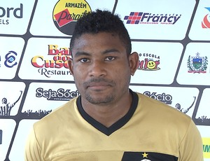 Henik, volante, Botafogo-PB (Foto: Reprodução / TV Cabo Branco)