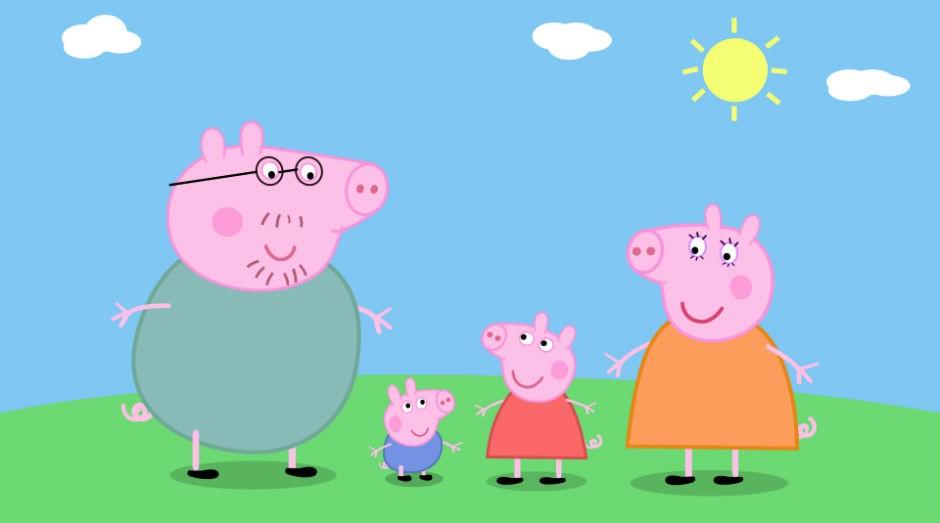 Peppa Pig: fenômeno na televisão (Foto: Divulgação)