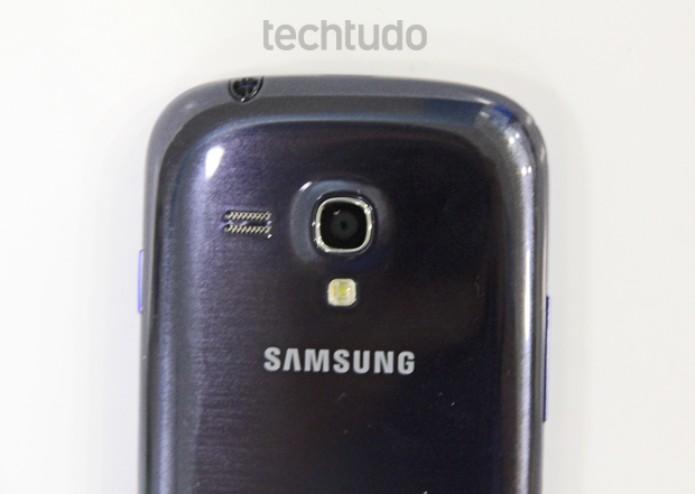 Câmera do Galaxy S3 mini tem 5 megapixels e desempenho mediano (Foto: Marlon Câmara/TechTudo)