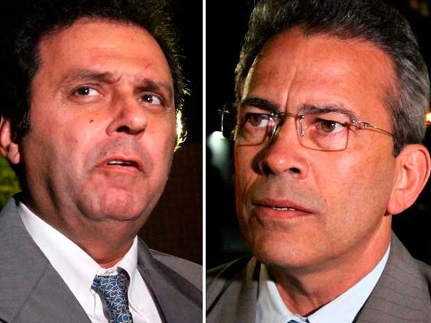 Carlos Eduardo, do PDT, e Hermano Moraes, do PMDB, se enfrentam no 2º turno em Natal (Foto: Canindé Soares/G1)
