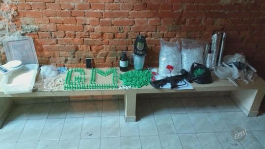 Guarda apreende três quilos de cocaína, armas e veículos em chácara de Cosmópolis