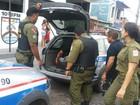 Polícia Militar prende dois homens suspeitos de saidinha bancária no PA