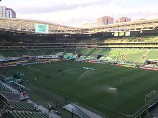 Palmeiras x São Bernardo arena (Foto: Felipe Zito)