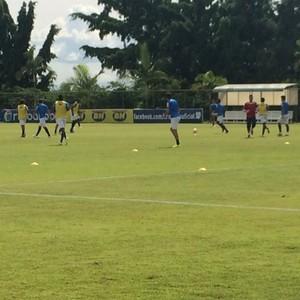 Treino Cruzeiro na Toca da Raposa (Foto: Maurício Paulucci)