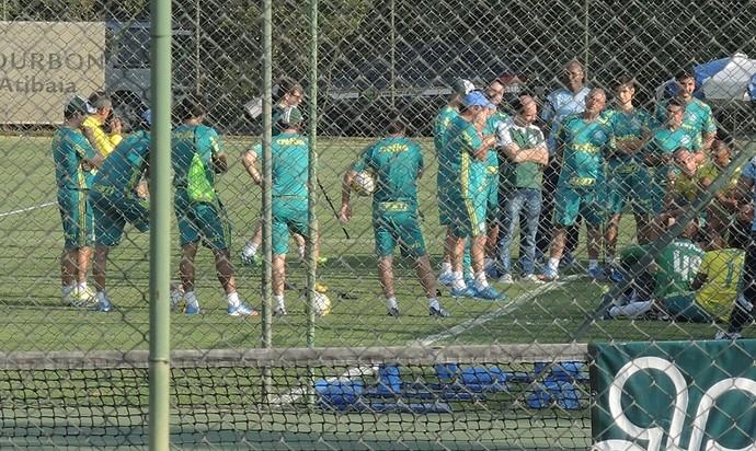 Cuca Palmeiras Atibaia (Foto: Felipe Zito)
