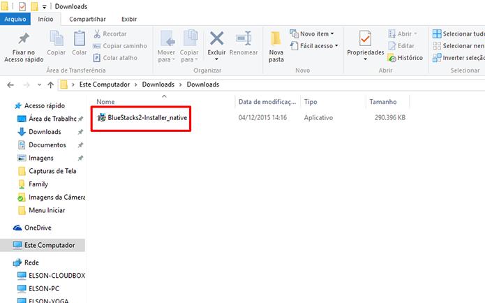 BlueStacks 2 precisa ser instalado manualmente até por usuários da primeira versão (Foto: Reprodução/Elson de Souza)