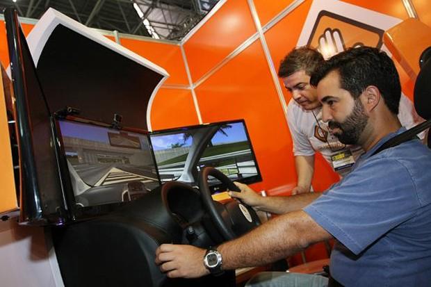 Simulador para formação de novos motoristas (Foto: Divulgação)