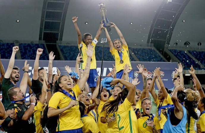 Seleção é hexacampeã da competição (Foto: Rafael Ribeiro/CBF)