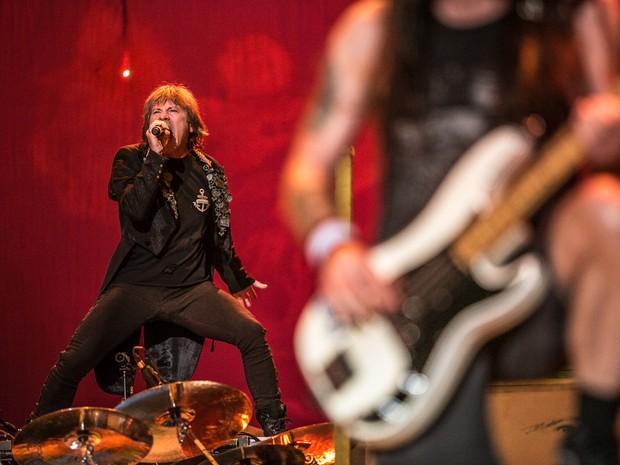O Iron Maiden vai fechar o Rock in Rio no domingo (22) (Foto: Raul Zito/G1)