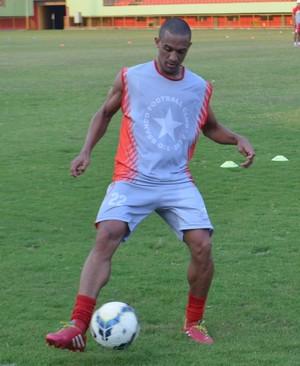 Willian Saroa, atacante Rio Branco-AC (Foto: Murilo Lima)