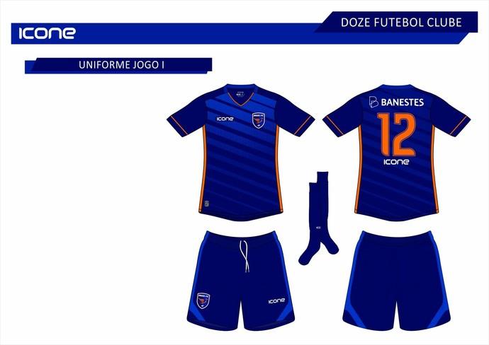 ae58e676cc Vazam na internet os novos modelos de uniforme do Doze Futebol Clube