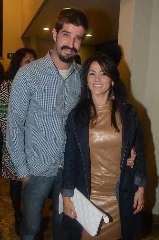 Suzana Alves E O Marido Na Sess Para Convidados Da Pe A Meu Deus