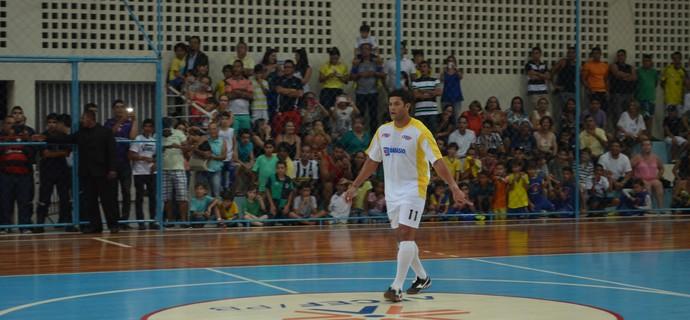 Hulk joga partida beneficente na Paraíba (Foto: Hévilla Wanderley/GloboEsporte.com)