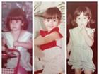 Fernanda Pontes abre o baú e posta fotos da infância em rede social