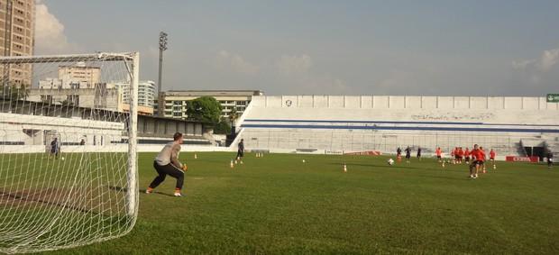 treino Remo finalizações (Foto: Globoesporte.com)