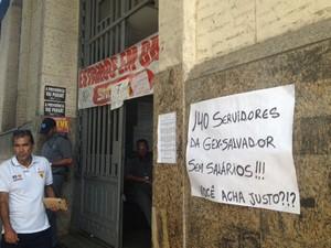 Peritos iniciam greve nesta sexta-feira (Foto: Juliana Almirante / G1)