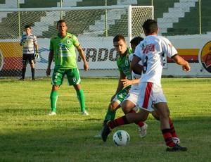 Sousa x Atlético de Potengi - amistoso (Foto: Jefférson Emmanoel / Globoesporte.com/pb)