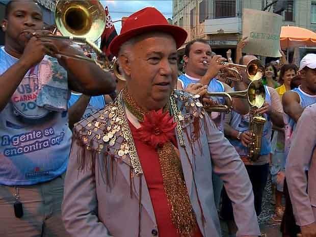 Em Boca Dura Ubá Carnaval 2014 (Foto: Reprodução/TV Integração)