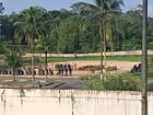 Semiaberto do Compaj é vistoriado em Manaus, após mortes e fugas