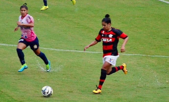 São José Flamengo futebol feminino Martins Pereira (Foto: Danilo Sardinha/GloboEsporte.com)