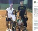Tênis, família e viagens: o primeiro ano de Alex após a aposentadoria