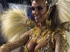 Noite começa com desfile de beldades (Livia Torres/G1)
