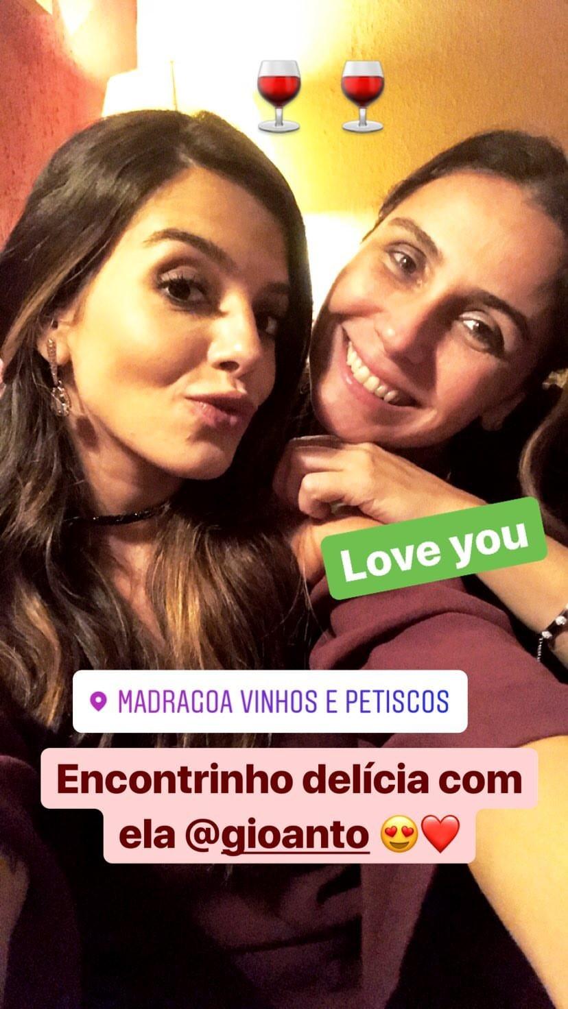 Giovanna Lancellotti e Giovanna Antonelli (Foto: Reprodução/Instagram)