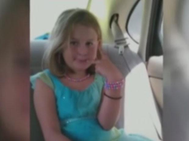 Menina foi morta por vizinho de 11 anos (Foto: Reprodução/TV Globo)