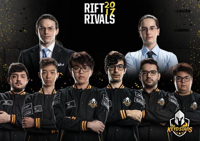 Keyd Stars; Rift Rivals; LoL (Foto: Divulgação / Keyd Stars)
