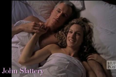 'Sex and the city' teve a participação do 'mad man' John Slattery (Foto: Reprodução da internet)
