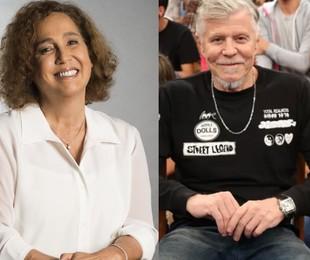 Claudia Jimenez e Miguel Falabella   TV Globo