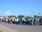 Alunos e professores de Santana protestam por segurança nas escolas