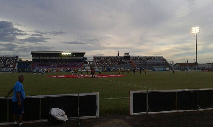 Estádio, Tenente Carriço, Tenentão, Penápolis, Penapolense, CAP, São Bernardo (Foto: Divulgação / São Bernardo FC)