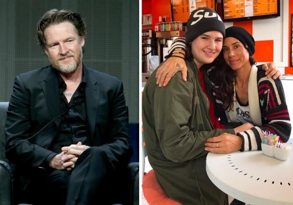O ator Donal Logue e uma foto da filha desaparecida com uma amiga (Foto: Getty Images/Twitter)