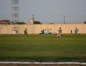 Ariquemes e R1 Esporte pelo Campeonato Rondoniense Juvenil (Foto: Ivanete Damasceno)