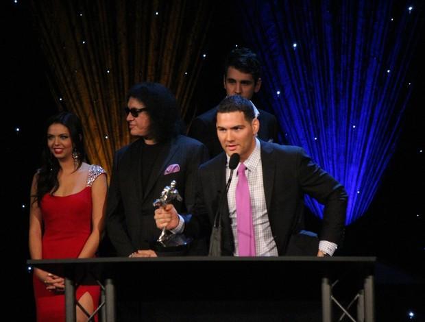 Chris Weidman lutador do ano Oscar MMA (Foto: Evelyn Rodrigues)