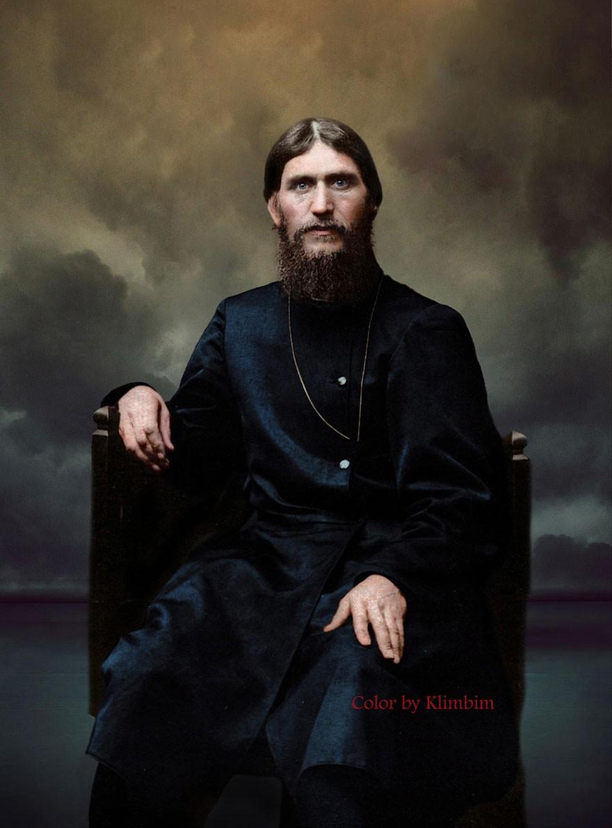 Grigori Rasputin, em 1904 (Foto: Reprodução)