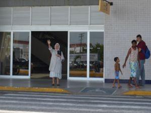 """""""Inspiração vem do céu"""", conta Isaura (Foto: Marina Fontenele/G1)"""