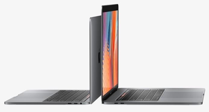 MacBook Pro tem teclado mais baixo e trackpad maior (Foto: Divulgação/Apple)