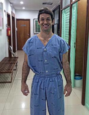 Diego Hypolito exame (Foto: Reprodução/Instagram)